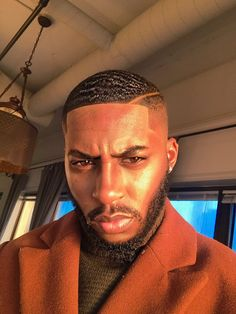 51 Best Short Haircuts for Men in 2019 - Style My Hairs Cute Black Guys, Gorgeous Black Men, Fine Black Men, Handsome Black Men, Black Women, Waves Hairstyle Men, My Hairstyle, Black Men Haircuts, Black Men Hairstyles
