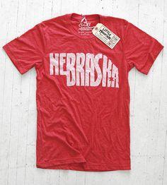 Little Mountain Print Shoppe — Nebraska | Red