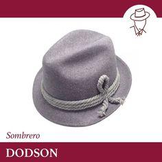 SOMBRERO DODSON DODSON es un Diseño Exclusivo de Casa Yustas y está  elaborado al 100 % con un suave fieltro de lana y sin forro. Es un sombrero  flexible y ... 7dfe9e8482a