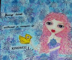 Does Your Creative Muse Show You Kindness? - Morning Dewdrops - http://morningdewdrops.typepad.com/my-blog/2012/08/does-your-creative-muse-show-you-kindness.html