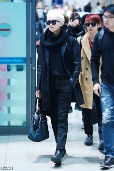 K-fashion-beauty-lifestyle - BTS Rap Monster airport fashion at ...