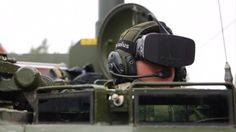 The Norwegian Army is using the #Oculus Rift to drive tanks