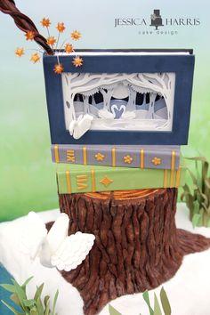 Wonderful way to make a realistic tree trunk!