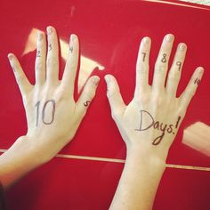 Taylor Swift. 10 days to RED