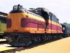 Milwaukee Road E-2 Locomotive - Kirkwood MO