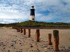 Spurn Head Lighthouse East Groynes