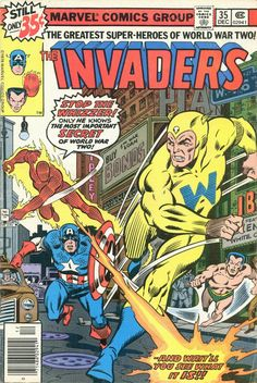 The Invaders (1975)     Issue #35     - Read     The Invaders (1975)     Issue #35     comic online in high quality