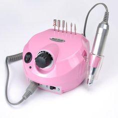 Professional Electric Acrylic Nail Drill File Buffer Bits Manicure Pedicure Kit | eBay