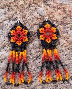 Handmade Peyote Stitch Glass Seed Beaded by MiCasitaDeChaquira
