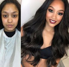 Amazing transformation or not? #mua #makeupartist #makeupforever #makeupworld #makeup #makeuplover
