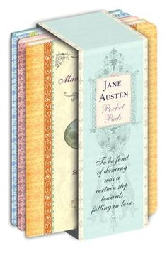 Jane Austen Pocket Note Pads- Set of 4