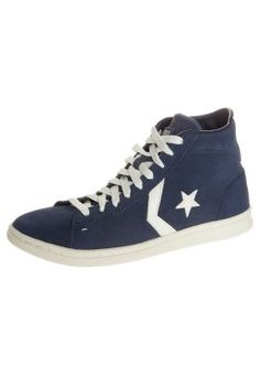PRO LEATHER MID SUEDED SUEDE - Sneakers alte - blu
