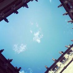 A window in the sky. Barcelona