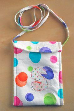 messenger bag style  purse for girls kids teen by patternpatti, $5.00