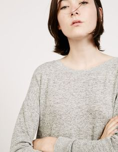 15 Jersey cuello redondo 'Kelly' - Novedades - Bershka España