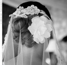Mantilla Veil Hairstyles   Mantilla Veils » Swoon, Inspiration Blog for Australian Brides