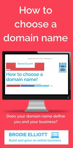 Will your domain name have any impact on the success of your website or blog? Make Money Traveling, Make Money Blogging, Money Tips, Make Money Online, How To Make Money, Business Names, Business Tips, Online Business, Self Branding