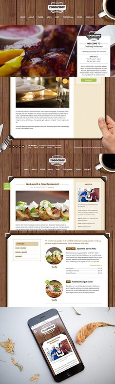 Foodchop HTML. HTML/CSS Themes. $19.00