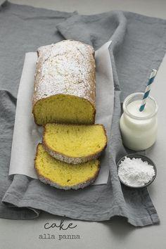 Cake alla panna - la tarte maison  Plum Cake