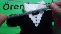 Damat smokin lif yapım videosu Fingerless Gloves, Arm Warmers, Crochet Necklace, Knitting, Blankets, Youtube, Dots, Candy, Fingerless Mitts