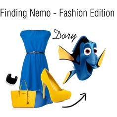 finding nemo - dory by agnes-weber on Polyvore