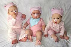 Refuge Creative: baby halloween costume. Three little pigs. boy or girl.