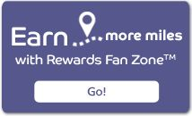 Barclaycard Arrival Card members can earn extra miles with Rewards Fan Zone. #travel #creditcards