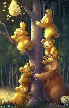 Gold Pokemon, Pokemon Fan Art, Pokemon Funny, Pokemon Stuff, Cool Pokemon Wallpapers, Hunting Art, Baby Art, Pokemon Cards, Artwork Prints