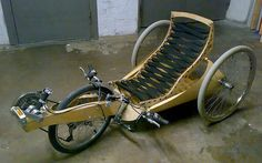 In previous articles we have looked at the where the recumbent bicycle came from and what are its benefits in this article we will look at reasons for why you and your partner should consider a rec… Wooden Bicycle, Wood Bike, Tricycle, Mongoose Mountain Bike, Traction Avant, Recumbent Bicycle, Push Bikes, Bike Trailer, Bicycle Pedals