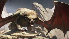 Ezhdeha by Saeed Ramez Posted by /u/Maparyetal to /r/fantasyart Fantasy Dragon, Dragon Art, Creature Concept Art, Creature Design, Fantasy Creatures, Mythical Creatures, Dcc Rpg, Cool Dragons, Fantasy Beasts