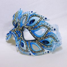 Rhinestone Masquerade Mask Filigree Mask by BejeweledMasquerade ~ Ʀεƥɪииεð вƴ╭•⊰✿ © Ʀσxʌиʌ Ƭʌиʌ ✿⊱•╮