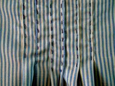 Tunic nani iro, particolare delle pieghe