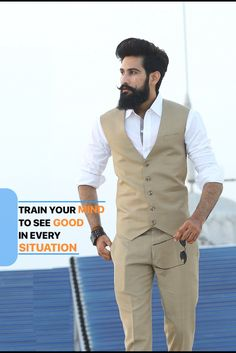 Boys Beard Style, Beard Styles For Men, Hair And Beard Styles, Trendy Mens Fashion, Indian Men Fashion, Stylish Mens Outfits, Formal Men Outfit, Casual Wear For Men, Top Hairstyles For Men
