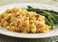 Cheesy Seafood Gratin With Parmesan Green Bean Sauté from Publix Aprons Seafood Recipes, Pasta Recipes, New Recipes, Cooking Recipes, Favorite Recipes, Yummy Recipes, Dinner Recipes, Creamy Seafood Pasta, Publix Aprons Recipes