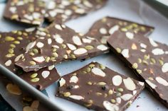 Raw Cacao Butter Chocolate Bark - Someday I will make this. Then probably eat all of it at once and feel gross.