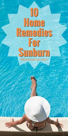 It's almost inevitable that you will get a sunburn sometime in your life. While your body needs time to heal, here are some great remedies to relieve the pain and speed up the healing process! Natural Remedies For Rosacea, Natural Remedies For Sunburn, Sunburn Remedies, Psoriasis Remedies, Psoriasis Scalp, What's Good For Sunburn, Doterra, Aloe Vera, What Is Psoriasis