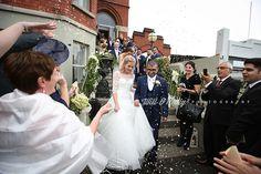 We love confetti :) Confetti, Real Weddings, Wedding Photos, Wedding Dresses, Inspiration, Beautiful, Fashion, Bridal Dresses, Biblical Inspiration