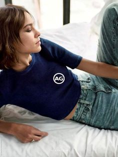 Alexa Chung is the face of AG fall/winter 2016