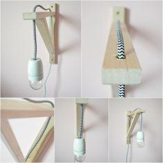 Nachtlamp Home Upgrades, Diy Pallet Projects, Little Girl Rooms, Kidsroom, Ikea Hack, Hanging Lights, Home Bedroom, Room Inspiration, Sweet Home