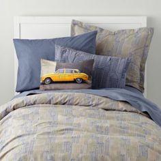 Midtown Bedding  | The Land of Nod Boys Bedding
