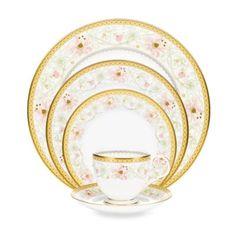Noritake® Blooming Splendor 5-Piece Place Setting - BedBathandBeyond.com