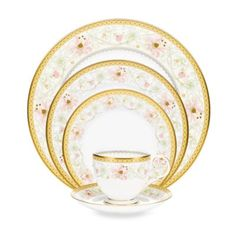 Noritake® Blooming Splendor Dinnerware Collection - BedBathandBeyond.com