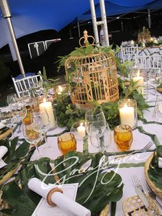 Greenfingers Table Centerpiece