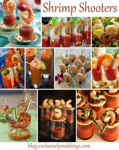 Shrimp_Shooters-I especially like the bloody mary topped with shrimp on a pick.