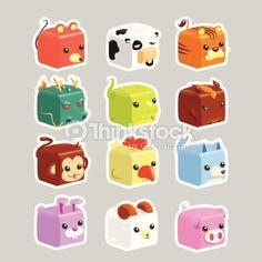 cube animal - Google 검색