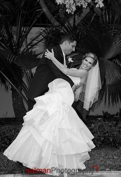 Juliana and Julien's wedding, June 30, 2013 at Pavilion Grille, Boca Raton. Salman Photography.