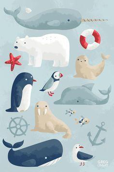sweet print for a nursery / kids' room