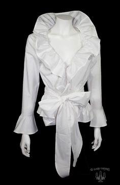 Fashion 2018, Womens Fashion, Modelos Plus Size, Looks Street Style, Elegantes Outfit, Dressy Tops, Beautiful Blouses, White Shirts, White Fashion