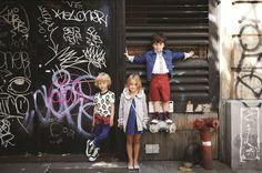 Little @Marc Jacobs Intl amazing grey for spring 2014 #grey #gray #littlemarcjacobs #SS14 #spring #summer #springsummer2014 #childrens #kids #childrenswear #kidswear #kidsfashion #girls #boys