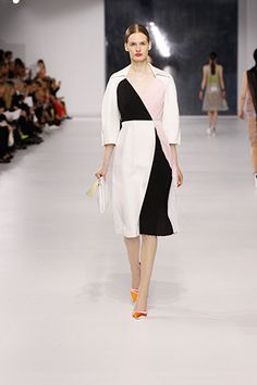 A new kind of color block at Dior